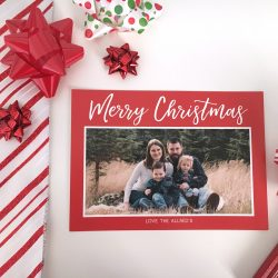 Simple Happiness Christmas Card