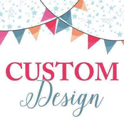 Birthday Invitations Custom Design