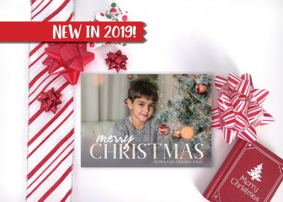 Photo Overlay Holiday Card