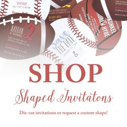 Shaped Invitations