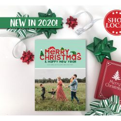 Christmas Hats Holiday Card - Vertical