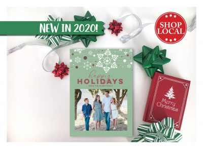 Snowflakes are Falling Christmas Card