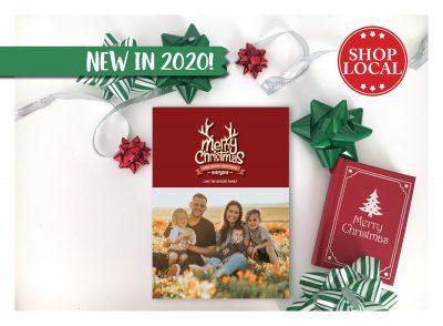Rudolph's Christmas Card