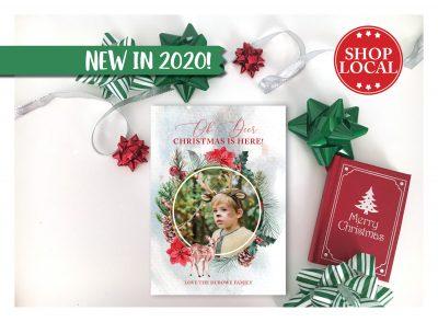 Oh Deer Christmas Is Here Card