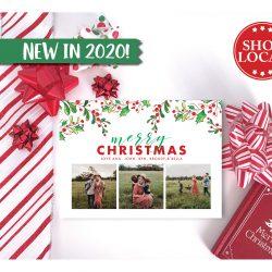 It's a Holly Jolly Christmas Card.