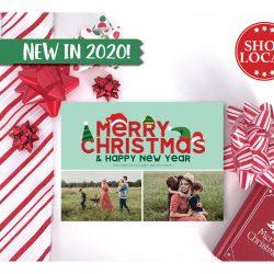 Christmas Hats Holiday Card